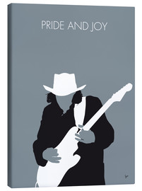 Canvas print  No087 MY Stevie Ray Vaughan Minimal Music poster - chungkong