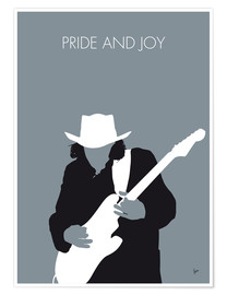 Premium poster Stevie Ray Vaughan - Pride And Joy
