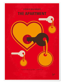 Premium poster No853 My The Apartment minimal movie poster