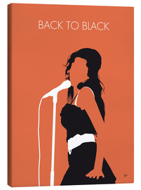 Canvas print  Amy Winehouse - Back To Black - chungkong