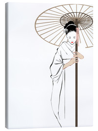 Canvas  The Geisha - Wadim Petunin