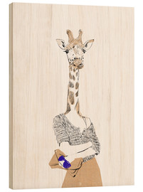 Wood  Fashion giraffe - Wadim Petunin