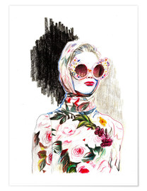 Premium poster Fashion Illustration III