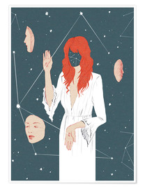 Premium poster  Florence and the Machine - Wadim Petunin