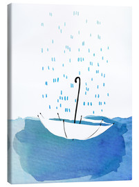 Canvas print  Rain in the screen - Wadim Petunin