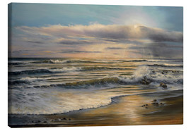 Canvas  Sunset on Sunday - Ludmilla Gittel