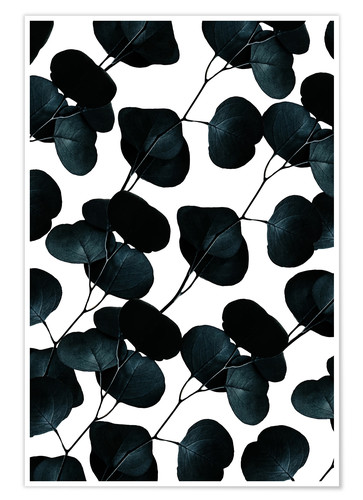 Premium poster Dark Leaves
