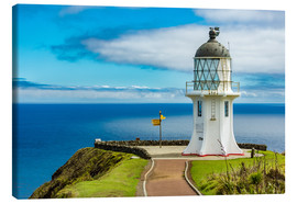 Canvas print  Cape Reinga New Zealand - Thomas Hagenau