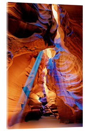 Acrylic glass  Upper Antelope Canyon Beam - Michael Rucker