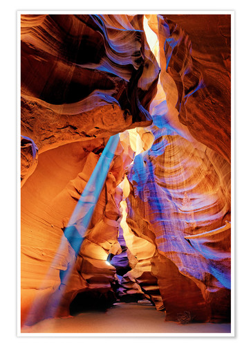 Upper Antelope Canyon Beam Posters And Prints