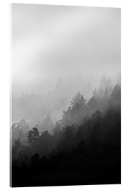 Acrylic print  Misty mornings - Mareike Böhmer