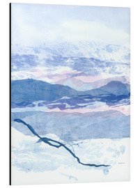 Aluminium print  Blue Mountain - Jan Sullivan Fowler