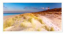 Premium poster  Dunes at the North Sea - Sascha Kilmer