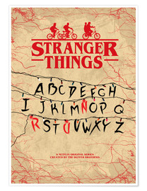 Poster  Stranger Things - Minimal TV show fanart alternative - HDMI2K