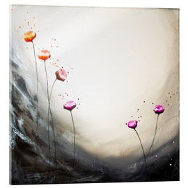 Acrylic print  Flowering Section - Yannick Leniger