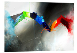 Acrylic glass  Colorful lines - Yannick Leniger
