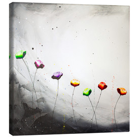 Canvas print  Flowering scape 2 - Yannick Leniger