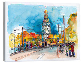 Canvas print  Leipzig Russian Memorial Church - Hartmut Buse