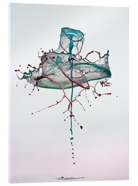Acrylic print  Water drops - mess - Stephan Geist