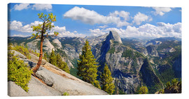 Canvas print  Glacier Point Yosemite Valley California USA - Michael Rucker