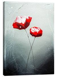 Canvas print  Blooming roses - Yannick Leniger
