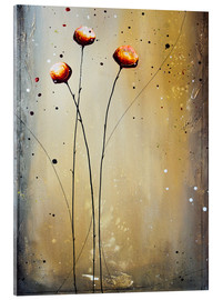 Acrylic glass  Flowering 224 - Yannick Leniger