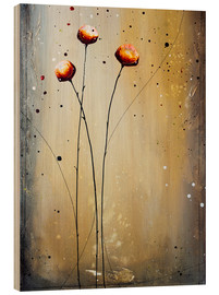 Wood print  Flowering 224 - Yannick Leniger
