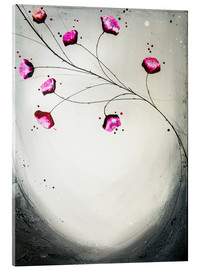 Acrylic print  flowering tendril - Yannick Leniger