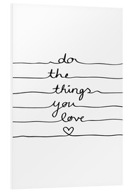 Forex  Do The Things You Love - Mareike Böhmer Graphics