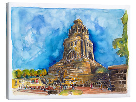 Canvas print  Leipzig Memorial to the Battle of Nations - Hartmut Buse