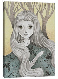Canvas print  Ghost of the Forest - Amalia K.