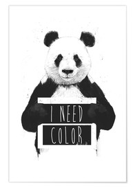 Premium poster  I need color - Balazs Solti