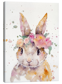 Canvas print  Little Bunny - Sillier Than Sally