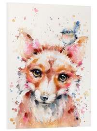 Foam board print  Little Fox - Sillier Than Sally