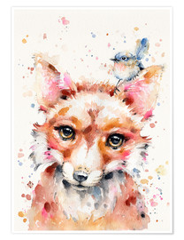 Premium poster  Little Fox - Sillier Than Sally