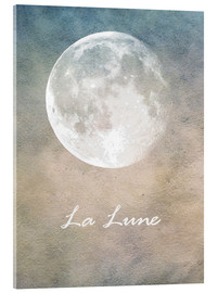 Acrylic glass  La Lune - Mandy Reinmuth