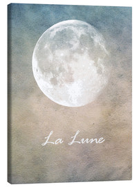 Canvas print  La Lune - Mandy Reinmuth