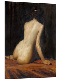 Foam board print  aktstudie - Albert Henry Collings