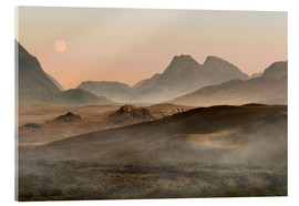 Acrylic glass  Isle of Skye morning panorama - Jaroslaw Blaminsky