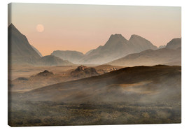 Canvas print  Isle of Skye morning panorama - Jaroslaw Blaminsky