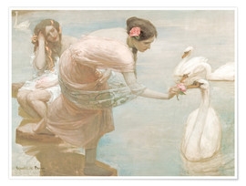 Rupert Bunny - A summer morning