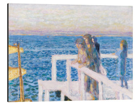 Aluminium print  The dock in Cannes - Pierre Bonnard