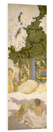 Foam board print  The Mediterranean Sea - Pierre Bonnard