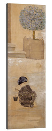 Aluminium print  Boy with sandcastle or child with bucket - Pierre Bonnard