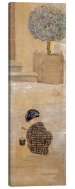 Canvas print  Boy with sandcastle or child with bucket - Pierre Bonnard
