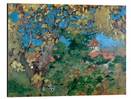 Aluminium print  The House in Grand-Lemps - Pierre Bonnard