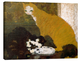 Canvas print  The cats - Pierre Bonnard