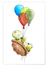 Poster turtle