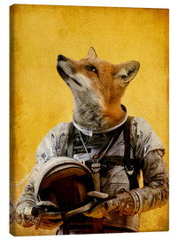 Canvas print  Space fox - Durro Art