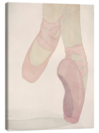 Canvas  Ballerina on tiptoes - Sybille Sterk